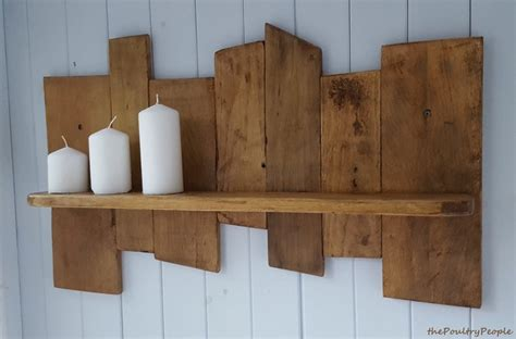 Upcycled Pallet Wood Shelf Pallet Ideas Recycled Wood Pallet Shelves