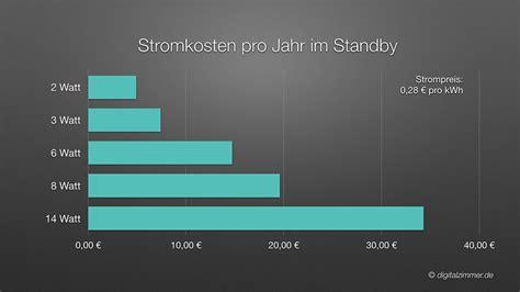 Kosten Auto Pro Jahr by Standby Verbrauch Multiroom Systemen Test