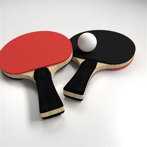 Table Tennis Set table tennis set 3d model 3ds fbx blend dae cgtrader