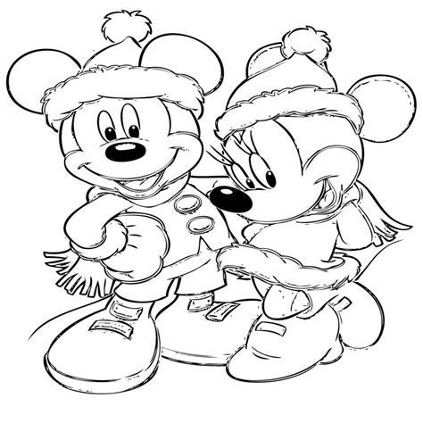 imagenes navidad grandes dibujos disney navidad para colorear e imprimir gratis