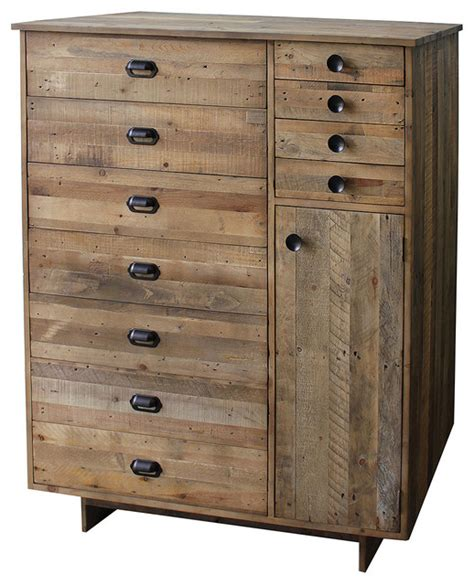 Bedroom Dressers And Chests Angora Chest Rustic Accent Chests And Cabinets New York By Zin Home