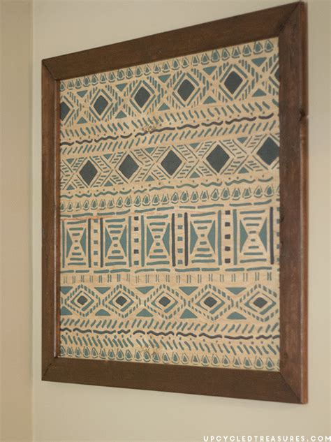 tribal pattern diy diy tribal wall art mountainmodernlife com
