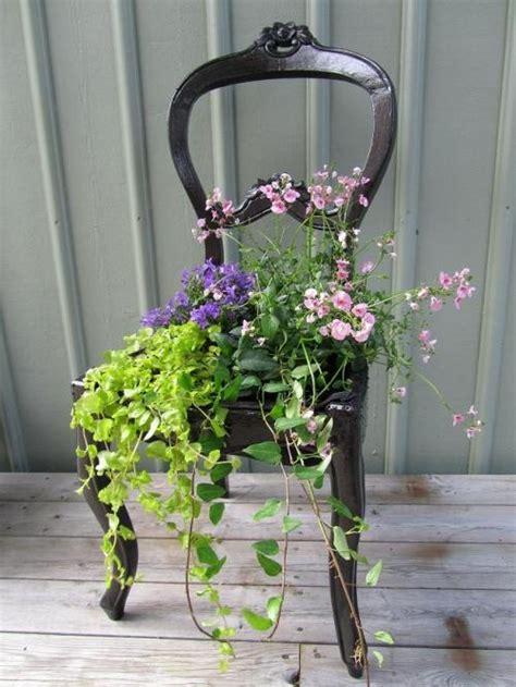 sedia vecchia vecchia sedia fiorita 20 idee a cui ispirarsi