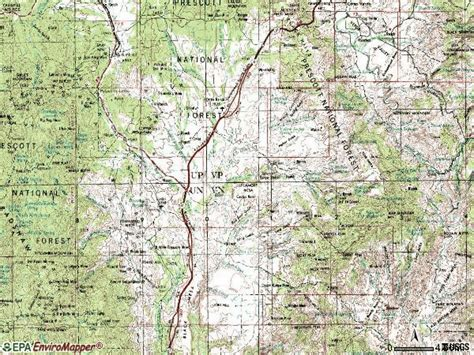 zip code map yavapai county 86333 zip code mayer arizona profile homes