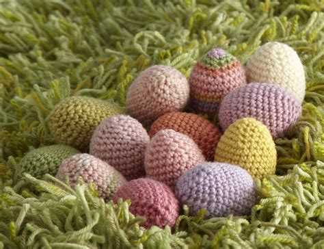 yarn egg pattern free easter crochet patterns that are quick and easy to make