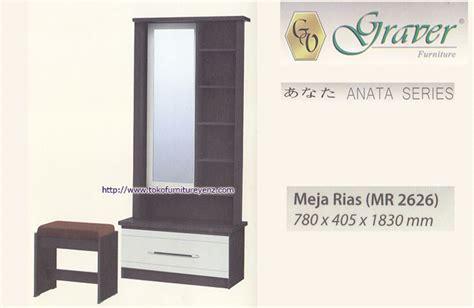 Fcenter Meja Rias Mr 2626 harga kamar set graver anata agen termurah