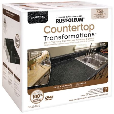 How To Use Rustoleum Countertop Paint by Save 79 01 Rust Oleum Countertop Transformations Kit Charcoal 020066204532 170 99