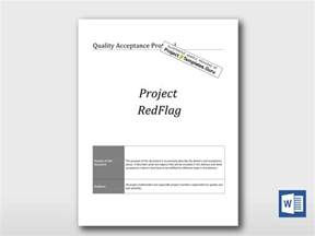 project protocol template quality acceptance protocol project templates guru