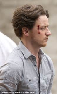 james mcavoy hit movies james mcavoy is still smiling after having been hit by a