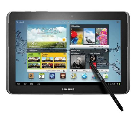 samsung android tablet samsung galaxy note 10 1 android tablet available for preorder gadgetsin
