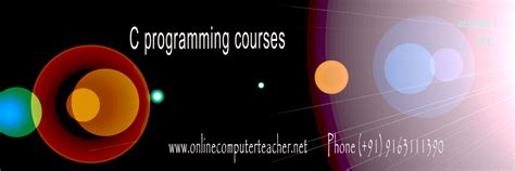 online tutorial in c c programming courses in kolkata c tutors c home tutors