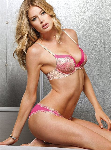 Victorias Secret Sexes Up The Oscars by Doutzen Kroes For Victorias Secret