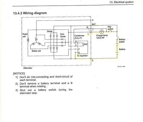 Alternator Schematic Schematic Send104b