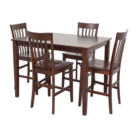 Raymour And Flanigan Dining Chairs 71 Raymour And Flanigan Raymour Flanigan Bellanest Counter Height Dining Set Tables
