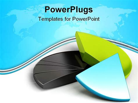 accounting powerpoint templates free pie chart banner a white background powerpoint