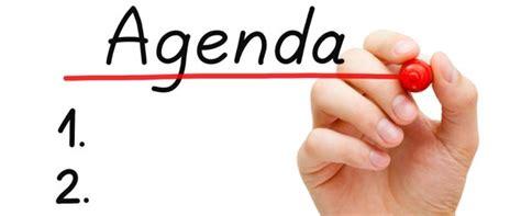 training agenda formatsplanet