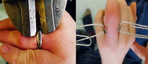 titanium vs gold as wedding bands for your finger s safety
