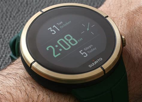 Smartwatch Suunto gps smartwatch review suunto spartan ultra gold edition ablogtowatch