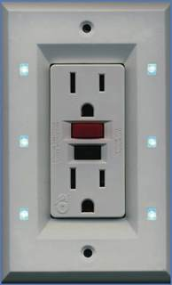 Led Night Light Outlet Cover Lite A Switch Elegant Night Light Improves Hotel Guest