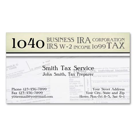 tax professional business cards template 1996 best accountant business cards images on