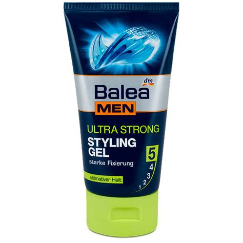 styling gel ultra strong balea men ultra strong styling gel haarkosmetik