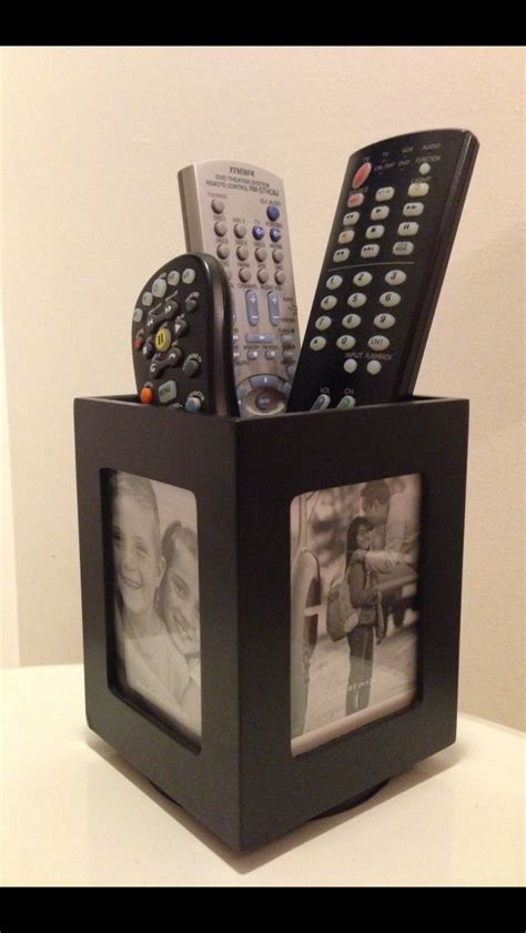 rotating bed with remote control my remote holder a rotating photo display pen holder cool stuff remote holder