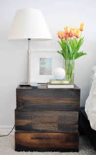 Decorating Ideas For Nightstands Diy Nightstands For Your Bedroom