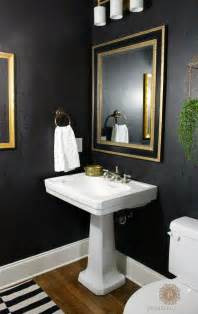 Pictures For Powder Room Powder Room Reveal Domestic Charm