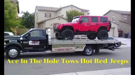 ace family jeep ace in the towing in roseville towing and roadside