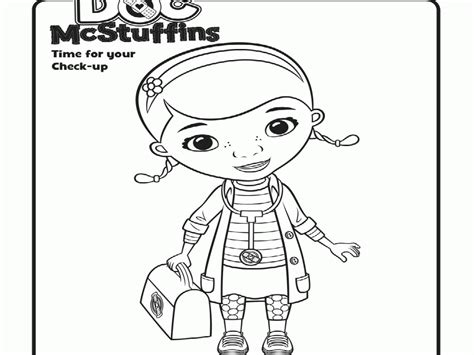 doc mcstuffin coloring pages doc mcstuffins coloring page coloring home