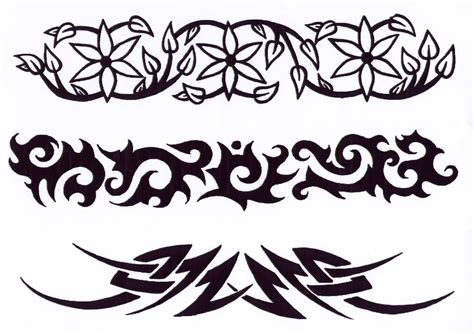 pic of tribal tattoos tribal tattoos design clipart best