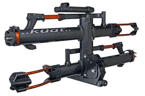 kuat bike rack kuat nv 2 0 2 bike platform rack 2 quot hitches aluminum