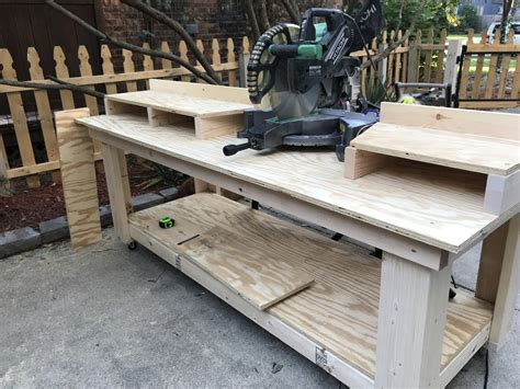 Diy Miter Saw Bench Shanty 2 Chic