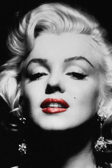 marilyn monroe black and white marilyn monroe black and white red lips quotes www