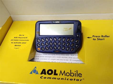 mobile aol aol mobile communicator a of history