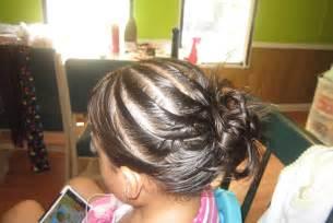 Peinados sencillos y facil para ninas opcion para graduacion