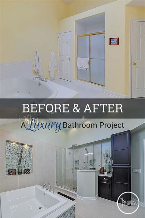 bathroom remodeling ideas before and after before after a luxury bathroom remodel home