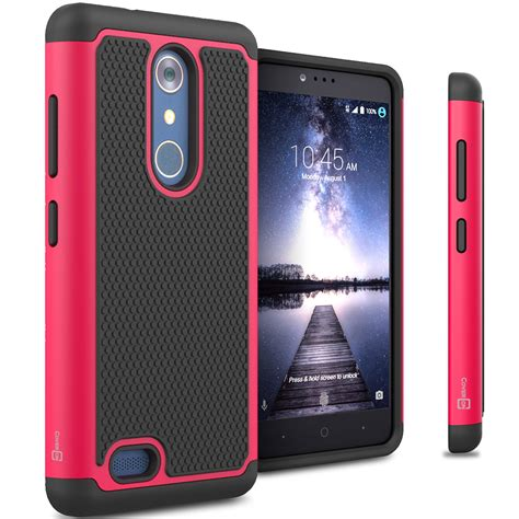 ebay zte zmax pro for zte zmax pro carry case tough protective hard hybrid