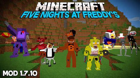 Pdf Five Nights At Minecraft Mod by Five Nights At Freddy S 3 Minecraft Mod 1 7 10 En Espa 209 Ol