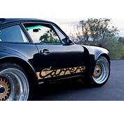 Black And Gold Porsche 911 Carrera On Resized 17″ BBS RS