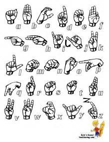Printable Sign Language Alphabet  Lol Roflcom sketch template