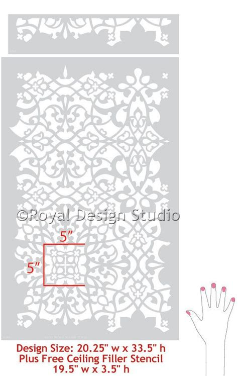 moroccan pattern roller palace trellis moroccan wall stencil moroccan wall