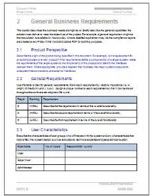 Business Requirements Definition Template Business Requirements Templates Ms Word Excel Amp Visio