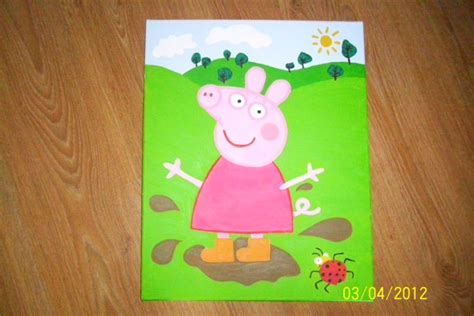 painting peppa pig peppa pig painting for sale in baldoyle dublin from parovoz55