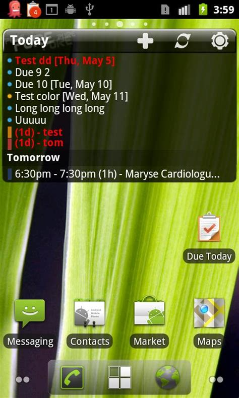 Best Calendar Widget Android Top 5 Android Calendar Widgets Android Widgets