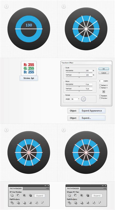 adobe illustrator radial pattern create a radial progress bar in adobe illustrator