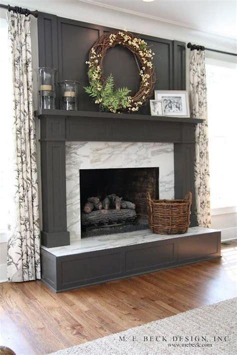 Green Marble Fireplace Makeover by Manteau De Foyer 10 Inspirations Chaleureuses Et Modernes