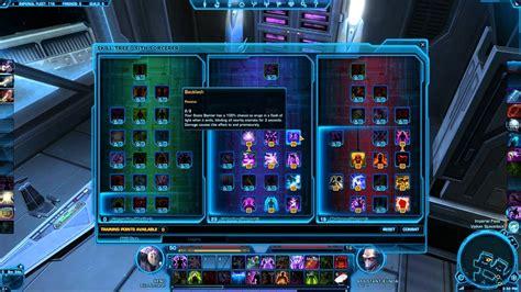 swtor sith sorcerer lightning build 30 swtor gameplay sith sorcerer best pvp talent builds