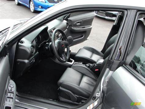 Subaru Forester Leather Interior by Sti Limited Black Leather Interior 2007 Subaru Impreza Wrx Sti Limited Photo 33097061