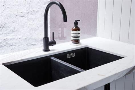 Black Kitchen Sinks And Taps Black Kitchen Tap